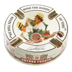 "Arturo Fuente Limited Edition Cream Porcelain Cigar Ashtray (Large 8.75"" )"