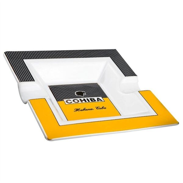Coco Cigars - Cohiba Square Ceramic Cigar Ashtray