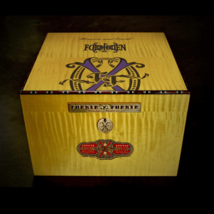"Fuente Fuente 2019 Limited Edition Yellow Sycamore Opus  X ""Purple Rain"" Humidor"