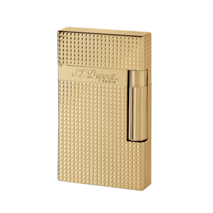 S. T. Dupont Yellow Gold Finish Cigar Lighter