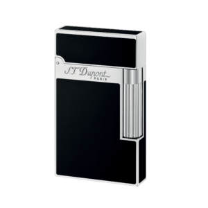 S. T. Dupont Palladium finish Natural Lacquer Lighter