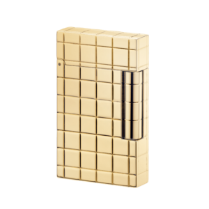 S. T. Dupont Solid 18-Carat Yellow Gold Finish Lighter