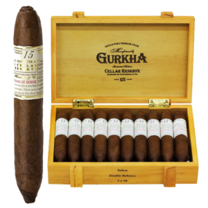 Gurkha Cellar Reserve Platinum 15 Year Solara Double Robusto